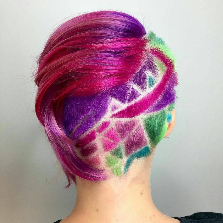 rainbow undercuts
