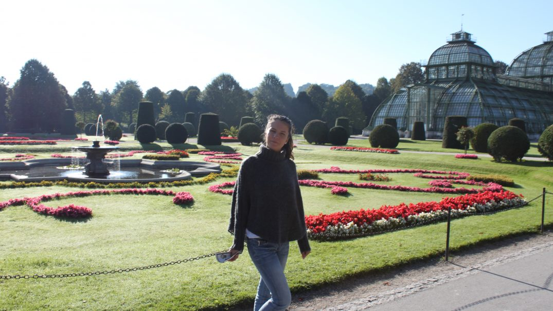 me Roxana in Vienna 2010