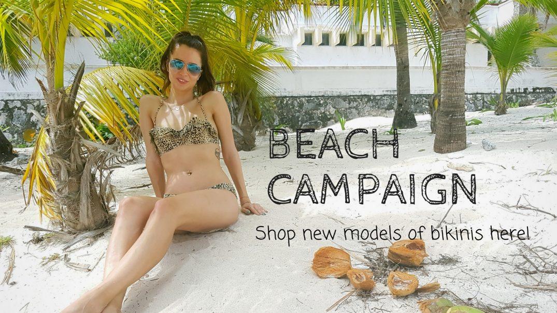 beachwear campaign